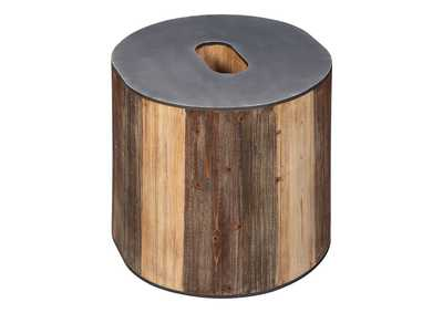 Image for Highmender Brown/Black Accent Table