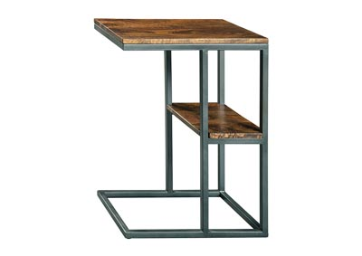 Forestmin Natural/Black Accent Table