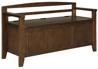 Charvanna Brown Storage Bench