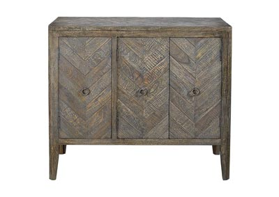Image for Boyerville Antique Gray Accent Cabinet