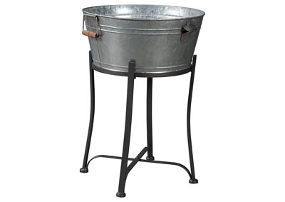 Valrock Antique Gray Beverage Tub