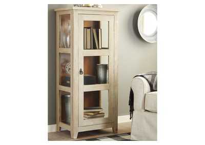 Kayton Gray Accent Cabinet