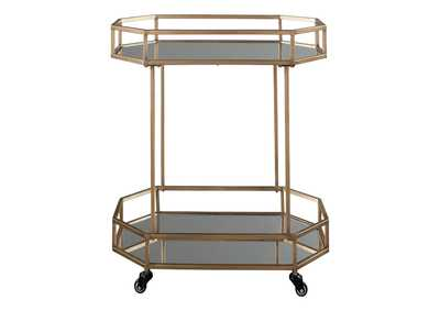 Daymont Yellow Bar Cart