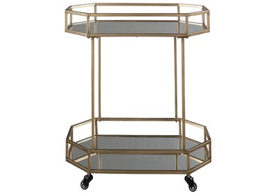 Daymont Gold Bar Cart
