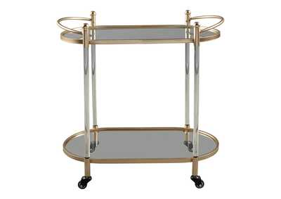 Image for Cordland Gold Bar Cart