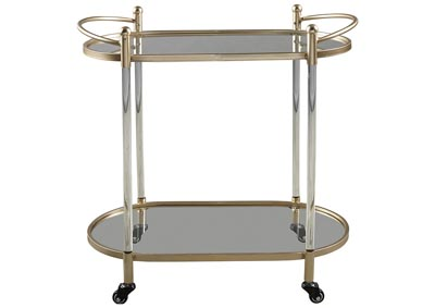 Cordland Gold Bar Cart