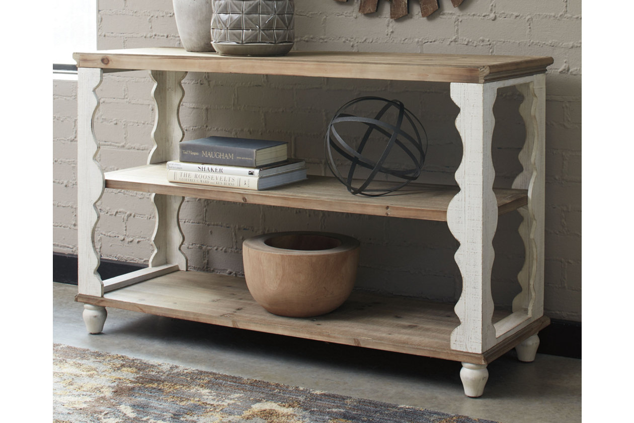 Alwyndale Brown Sofa Table