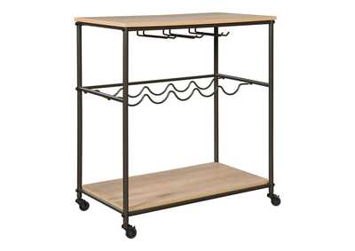 Jadonport Brown Bar Cart
