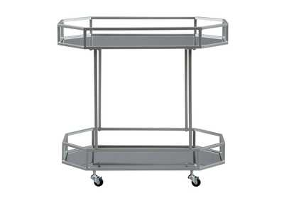 Kadinburg Silver Bar Cart