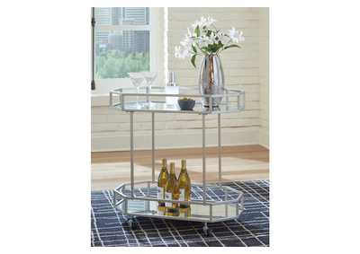 Image for Kadinburg Gray Bar Cart