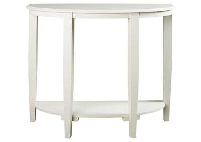 Altonwood White Sofa Table