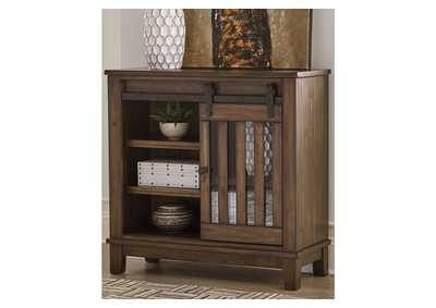 Brookport Brown Accent Cabinet