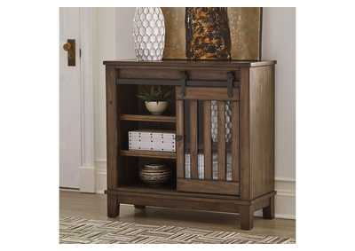 Brookport Brown Accent Cabinet,Signature Design By Ashley