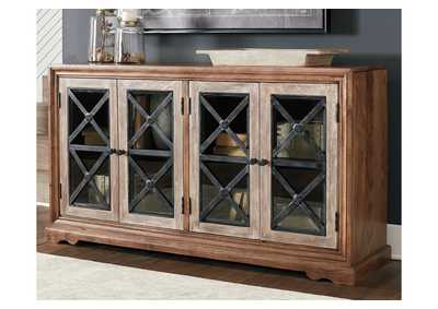 Image for Ellisburg Brown Accent Cabinet