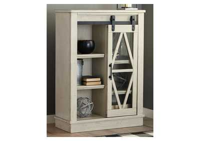 Image for Bronfield White Accent Cabinet