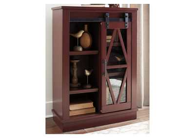 Image for Bronfield Red Accent Cabinet