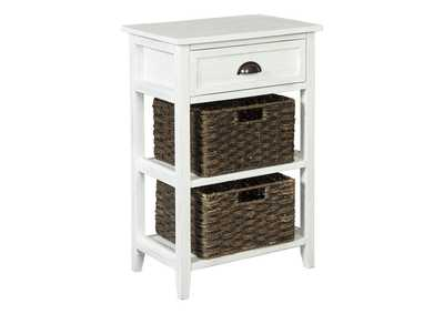 Image for Oslember White Accent Table