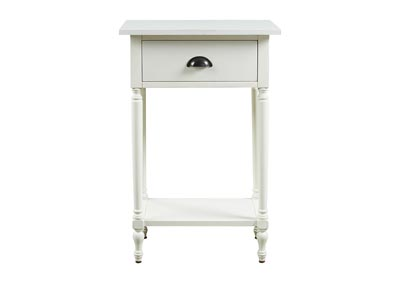 Image for Juinville White Accent Table
