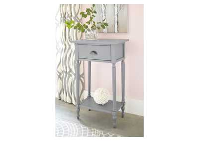 Juinville Gray Accent Table