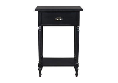 Image for Juinville Black Accent Table