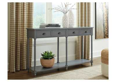 Eirdale Gray Sofa Table