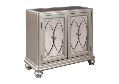Darlyman Silver Accent Cabinet