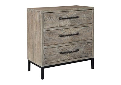 Cartersboro Brown/Black Accent Chest