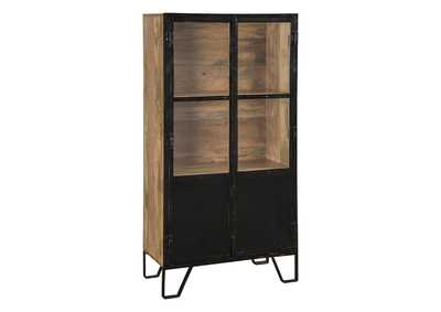 Gabinwell Black/Brown Bookcase