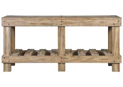 Susandeer Brown Console Table