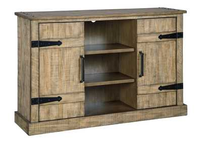 Susandeer Brown Accent Cabinet