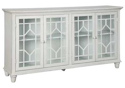 Image for Dellenbury White Accent Cabinet