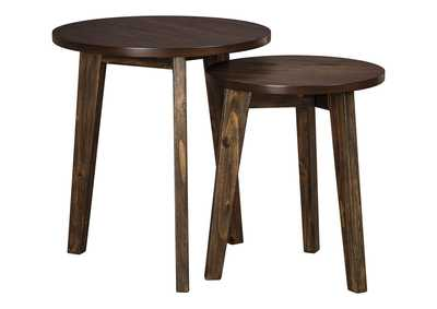 Clydmont Brown Accent Table (Set of 2)