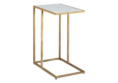 Image for Lanport Champagne/White Accent Table