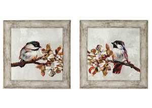 Domitian 2 Piece Wall Art Set