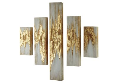 Beula Multi Wall Art Set (Set of 5)