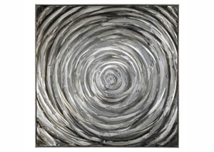 Adda Silver/Gray Wall Art