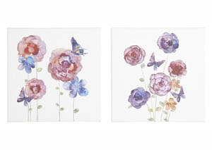 Carla Multi Wall Art Set (Set of 2)