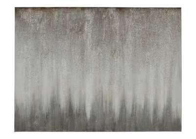 Image for Paytah Silver Finish Wall Art