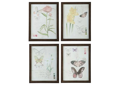 Carlisia 4 Piece Wall Art Set