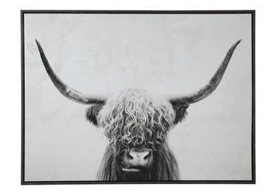 Image for Pancho Black/White Wall Art