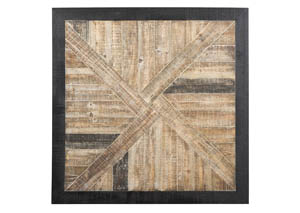 Odus Black/Natural Wall Decor
