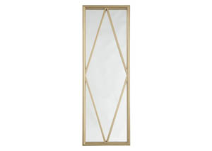 Offa Gold Finish Accent Mirror