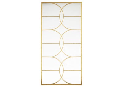 Eamon Antique Gold Finish Accent Mirror