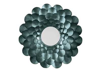 Image for Deunoro Blue Accent Mirror