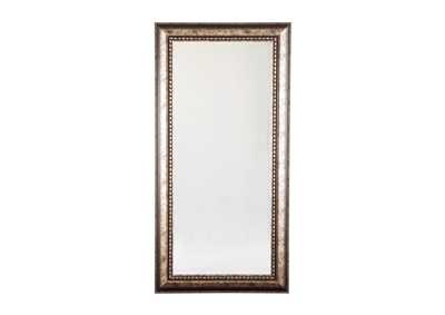 Image for Dulal Antique Silver Finish Accent Mirror