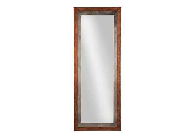 Niah Brown/Silver Accent Mirror