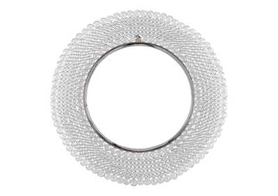 Marly Clear/Silver Accent Mirror
