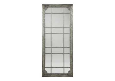 Image for Remy Antique Gray Accent Mirror