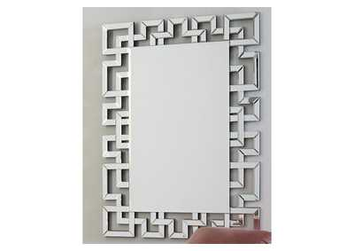 Image for Jasna White Accent Mirror