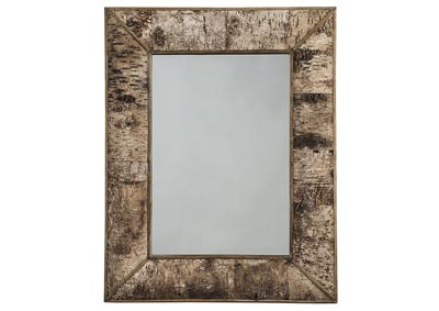Josefa Brown Accent Mirror